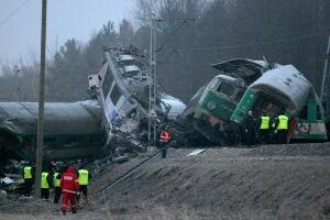 Katastrofa kolejowa na trasie do Warszawy. 15 ofiar śmiertelnych