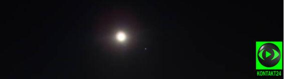 Księżyc połączył się z Jowiszem. Podejrzał ich Reporter 24