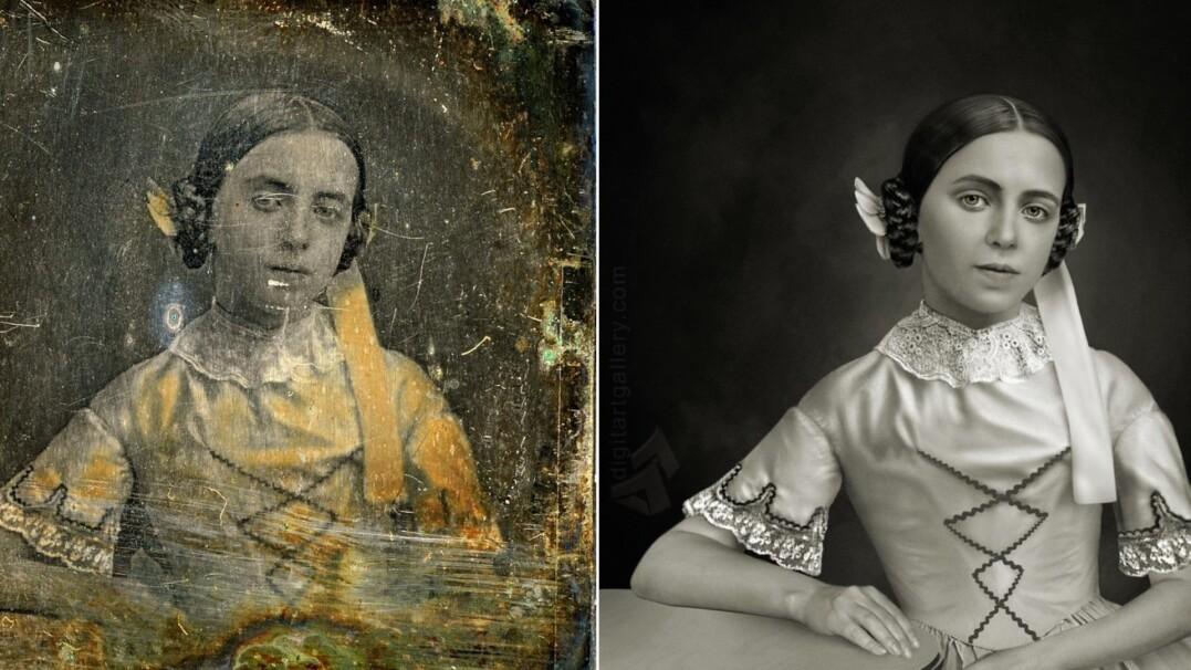 Nowe życie dla starych i zniszczonych fotografii