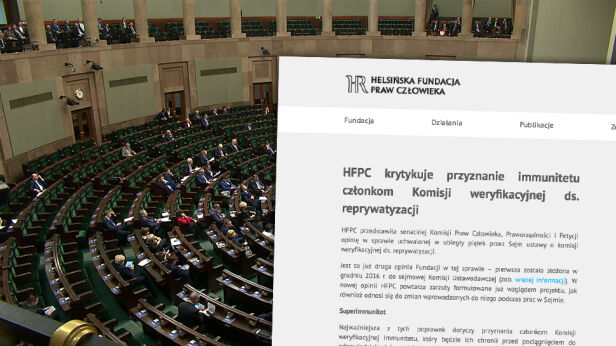 Helsińska Fundacja Praw Człowieka o komisji reprywatyzacyjnej TVN24