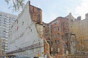 Przebiegał przez nią mur getta, dzielnica ma pomysł na zabytkową kamienicę