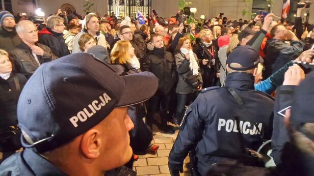 85. miesięcznica smoleńska Tomasz Zieliński, tvnwarszawa.pl