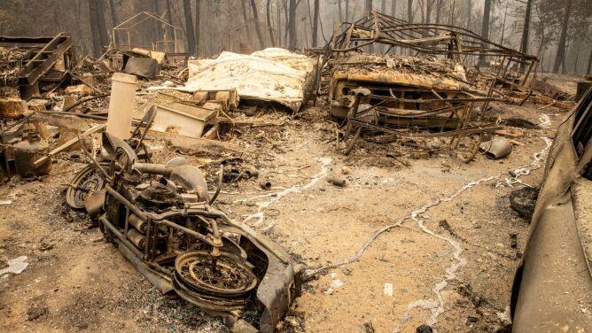 """""""To jest bestia"""". Pół miliona ewakuowanych, 15 ofiar śmiertelnych """"historycznych"""" pożarów"""