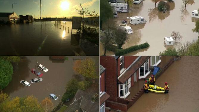 """""""Ekstremalne warunki pogodowe"""" w Anglii, nie żyje jedna osoba"""