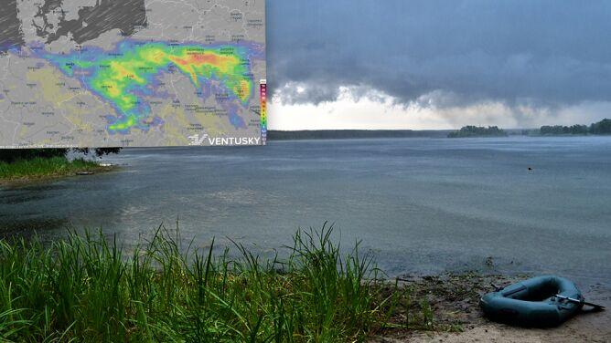 Wiosna pokazuje burzowe oblicze. <br />Czeka nas deszcz i porywisty wiatr
