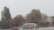 Gwałtowne załamanie pogody w Świnoujściu
