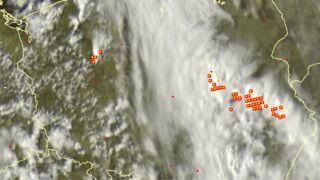 Ciemne chmury piętrzą się nad Polską. Gdzie jest burza
