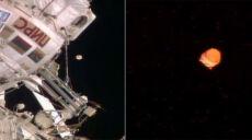 Przy ISS dostrzeżono dziwny obiekt