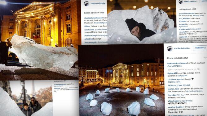 Lód z Grenlandii przed Panteonem. Wyjątkowa wystawa w Paryżu
