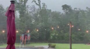 W niedzielę na Florydzie pojawiły się silne burze